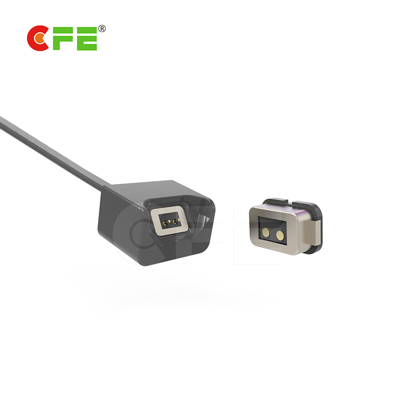 2pin Smart Band male and female magnetic cable connector