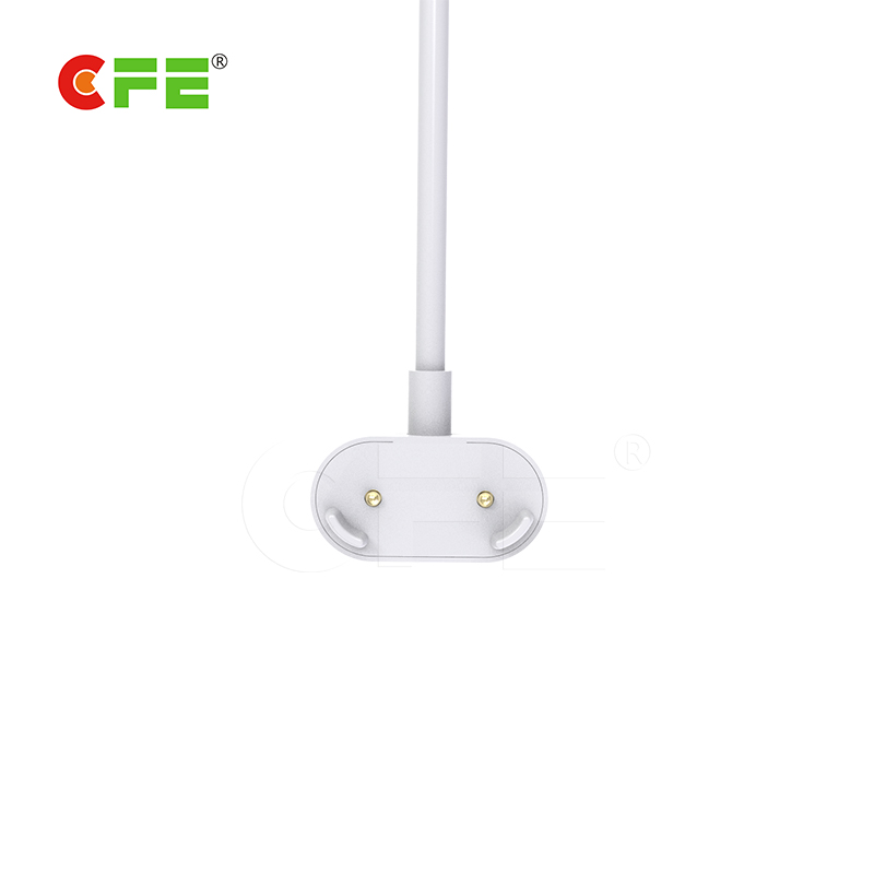 2pin pogo pin magnet connector with usb cable is use to desk lamp