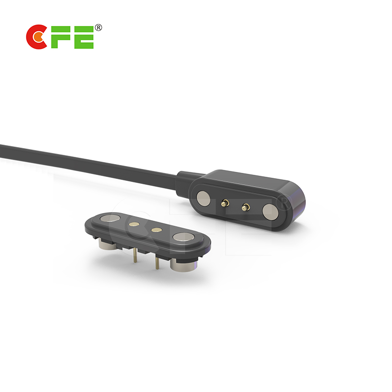 magnetic dc power cable connectors is use to Smart bracelet