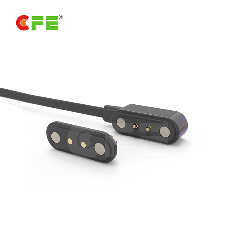 2 Pin magnetic charging cable connector
