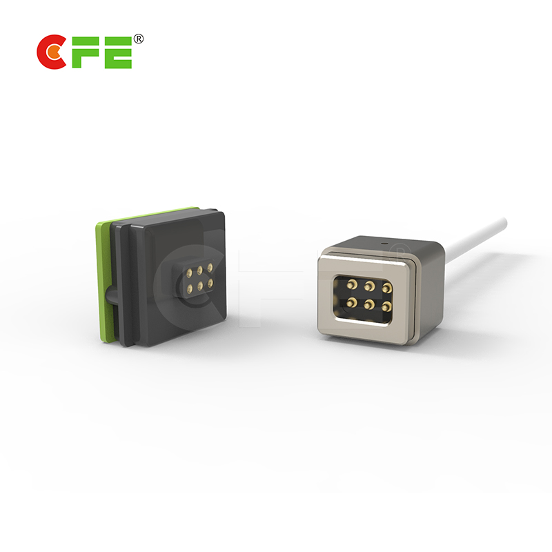 6pin magnetic cable charging connector with USB on household proudcts