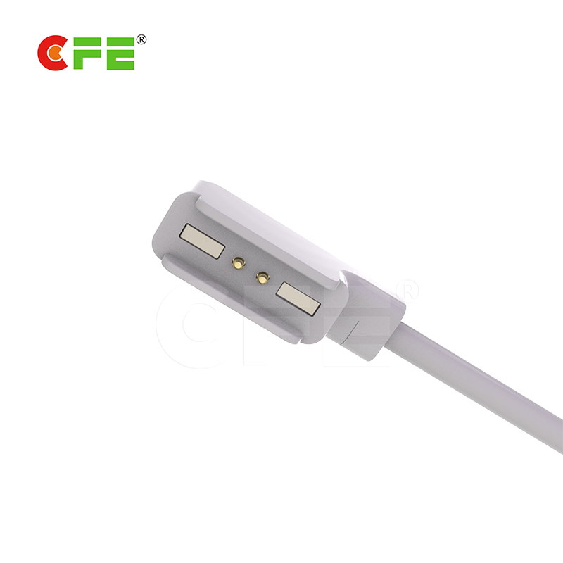 2pin magnetic charging cable use in electonic candle light