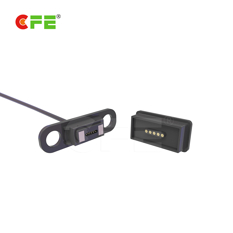 5pin electric magnetic power cable connector for electric wheelchairs