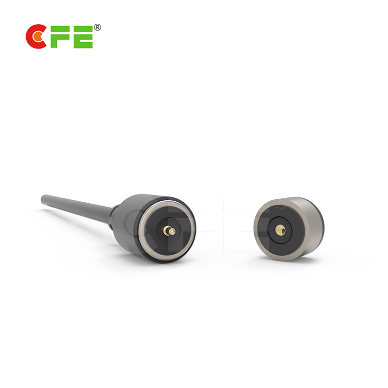 High class electric magnetic power charging cable connector for beauty equipment