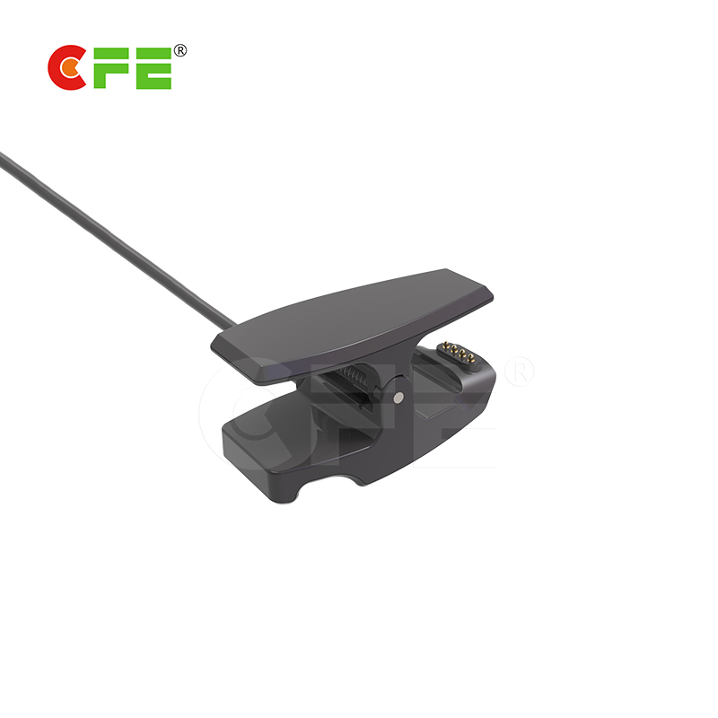 Magnetic 4pin cable connector