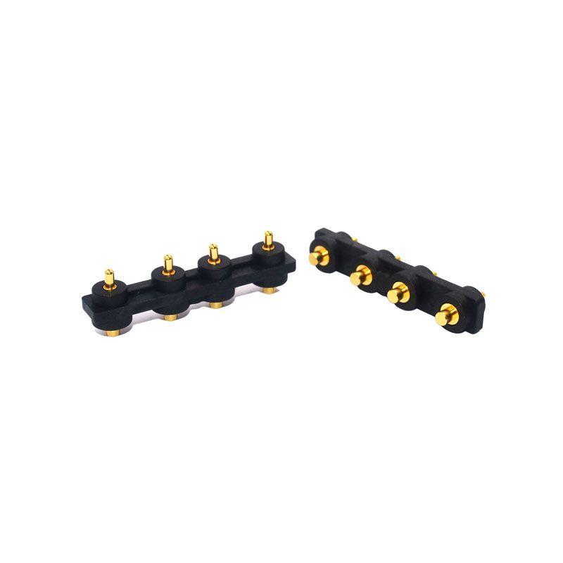 4pin SMT spring loaded connector
