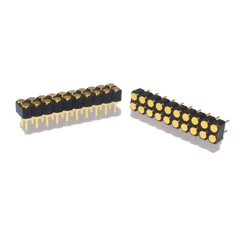 2.54 pitch female target connector