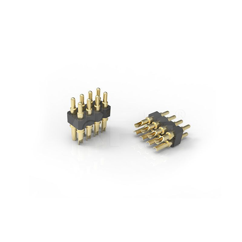 2.54mm Pitch Right Angle Pogo Pin Connector
