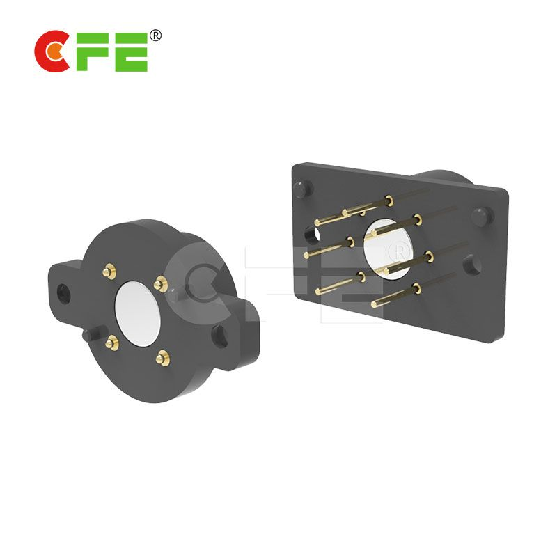 Magnetic electrical connector with charging and transmission signal