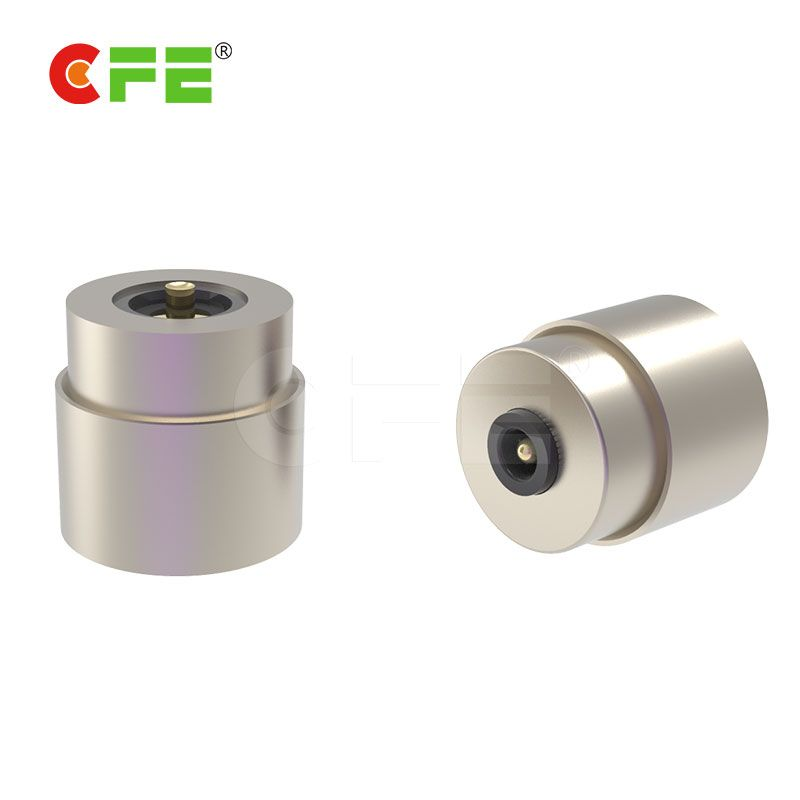 round type magnetic power connector for LED