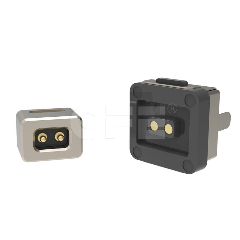 2pin male & female magnetic power connector for LED light