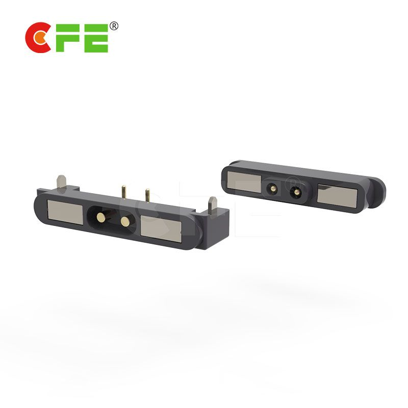 magnetic power connector for laptop