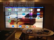 拼接屏打造遼寧撫順市東洲區四海海鮮酒店信息發布系統