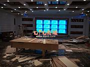 內蒙古烏蘭察布爾46寸液晶拼接屏舞臺案例