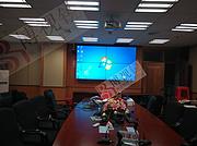 韶关南雄水利局三防机关单位预警系统-液晶拼接屏预警显示